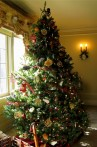 Photo of Christmas tree with Steampunk decorations