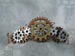 Tiara made of gears
